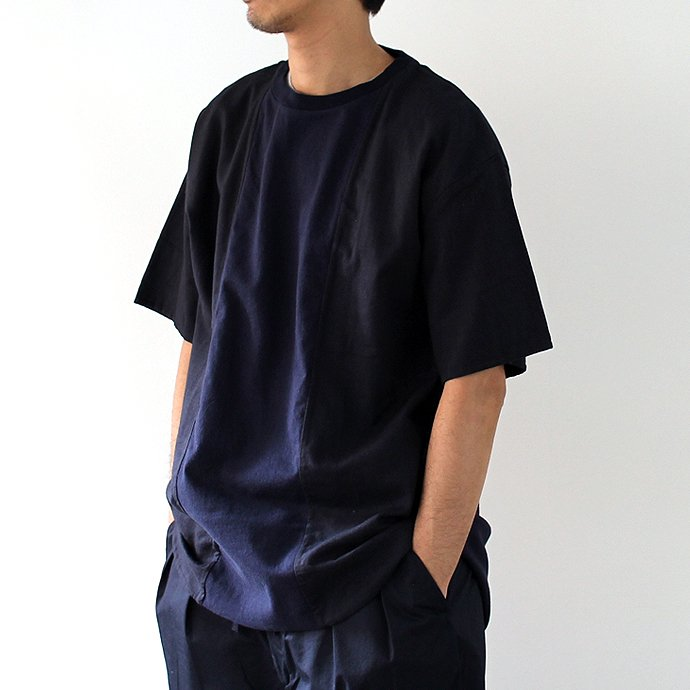 113176267 blurhms / Switch Over Tee BHS-CF17101 - Navy<img class='new_mark_img2' src='//img.shop-pro.jp/img/new/icons47.gif' style='border:none;display:inline;margin:0px;padding:0px;width:auto;' /> 02