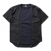 blurhms blurhms / Switch Over Tee BHS-CF17101 - Navy