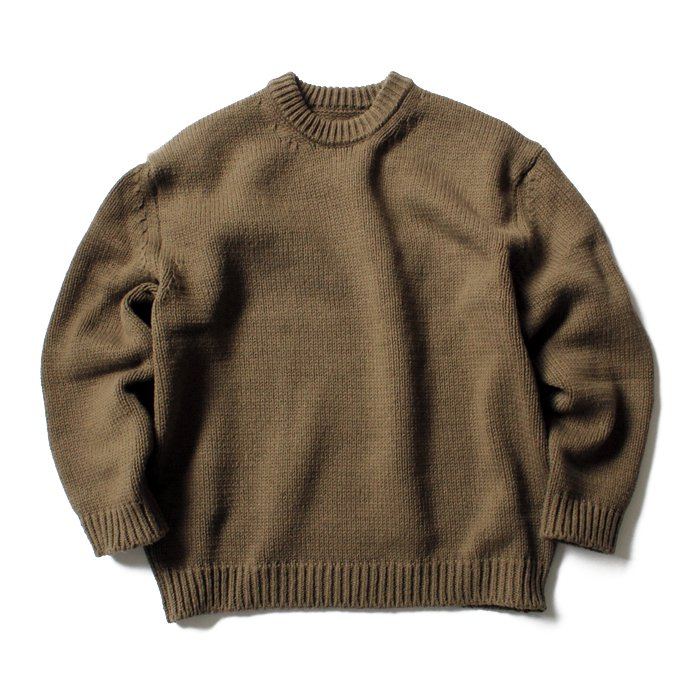 crepuscule crepuscule / Lowgage L/S コットンローゲージ クルーネックニット 1701-001 全4色<img class='new_mark_img2' src='//img.shop-pro.jp/img/new/icons47.gif' style='border:none;display:inline;margin:0px;padding:0px;width:auto;' /> 02