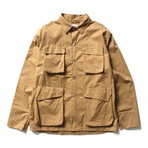 blurhms / Two-Ply Bush Shirt Jacket BHS-F17001