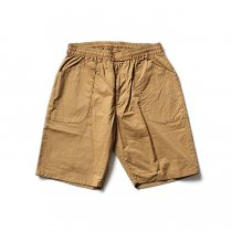 blurhms / Two-Ply Easy Fatigue Shorts BHS-F17004 - Beige