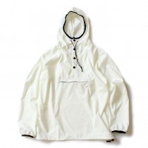 Powderhorn Mounteneering MOUNTAIN EASY PULLOVER PHM-17-001 パッカブルアノラック ホワイト