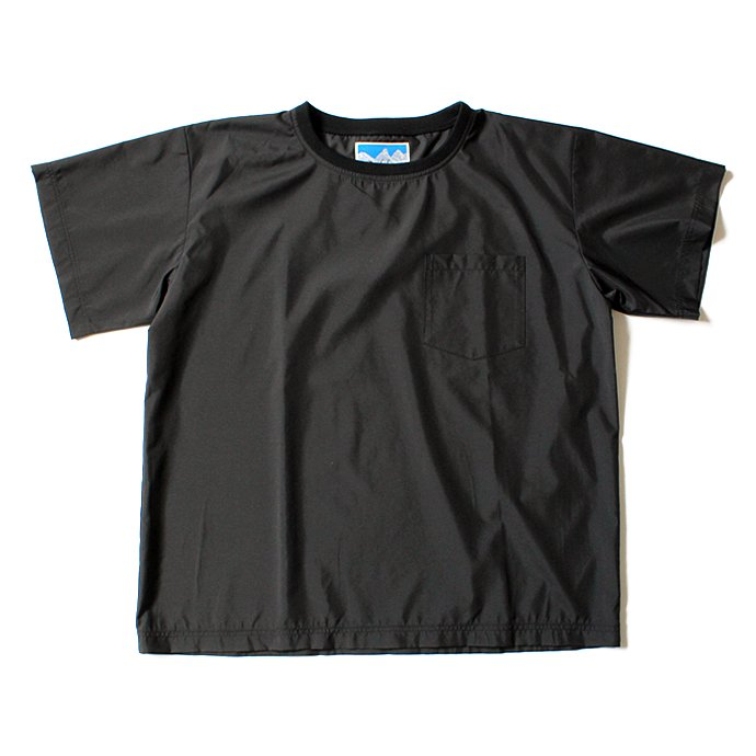 Powderhorn Mounteneering MOUNTAIN TEE PHM-17-002 マウンテンTシャツ ブラック 01