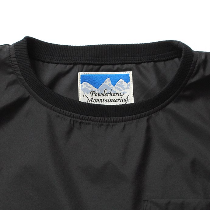 Powderhorn Mounteneering MOUNTAIN TEE PHM-17-002 マウンテンTシャツ ブラック 02
