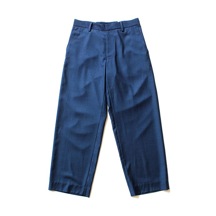 THEE THEE(シー)/ Wide ワイドパンツ TR-PT-01 - Navy Blue 02