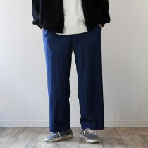THEE THEE(シー)/ Wide ワイドパンツ TR-PT-01 - Navy Blue