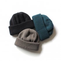 crepuscule / Knit Cap ニットキャップ 無地 1701-017 - 全3色<img class='new_mark_img2' src='//img.shop-pro.jp/img/new/icons47.gif' style='border:none;display:inline;margin:0px;padding:0px;width:auto;' />