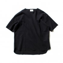 blurhms ROOTSTOCK / Rough & Smooth Thermal Loose Fit Over-neck BHS-RKSS17018 - Black Navy<img class='new_mark_img2' src='//img.shop-pro.jp/img/new/icons47.gif' style='border:none;display:inline;margin:0px;padding:0px;width:auto;' />