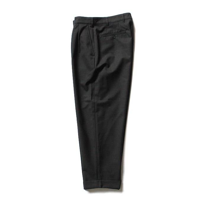 CEASTERS CEASTERS ケステル / Summer Wool 2 Pleats Trousers - Dark Grey M684<img class='new_mark_img2' src='//img.shop-pro.jp/img/new/icons47.gif' style='border:none;display:inline;margin:0px;padding:0px;width:auto;' /> 02