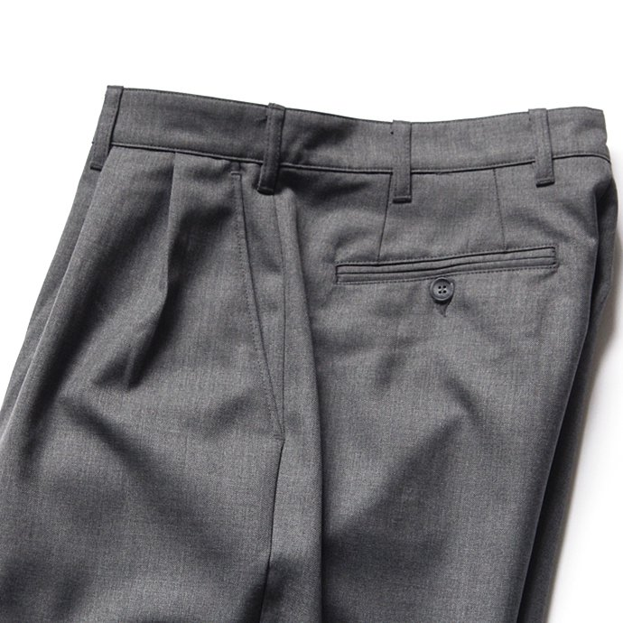 116200569 CEASTERS / Summer Wool 2 Pleats Trousers - Light Grey M658<img class='new_mark_img2' src='//img.shop-pro.jp/img/new/icons47.gif' style='border:none;display:inline;margin:0px;padding:0px;width:auto;' /> 02