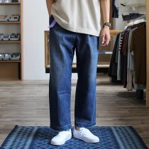 Other Brands RICCARDO METHA リカルド・メッサ / One Tuck Wide Trousers - Denim