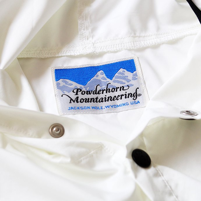 Powderhorn Mounteneering MOUNTAIN EASY PULLOVER PHM-17-001 パッカブルアノラック ブラック 02