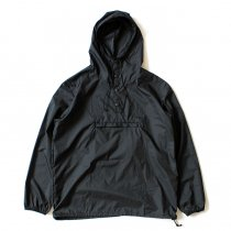 Powderhorn Mountaineering MOUNTAIN EASY PULLOVER PHM-17-001 パッカブルアノラック ブラック