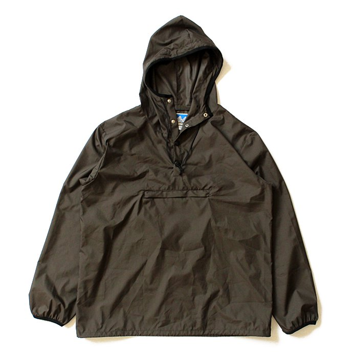 Powderhorn Mountaineering MOUNTAIN EASY PULLOVER PHM-17-001 パッカブルアノラック オリーブ 01
