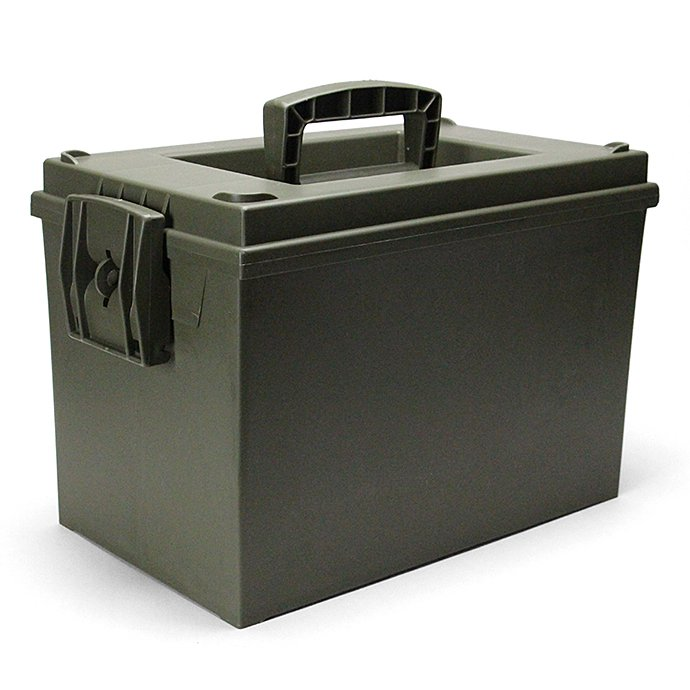 Other Brands Hayes / Large Utility Box - Olive Drab 01