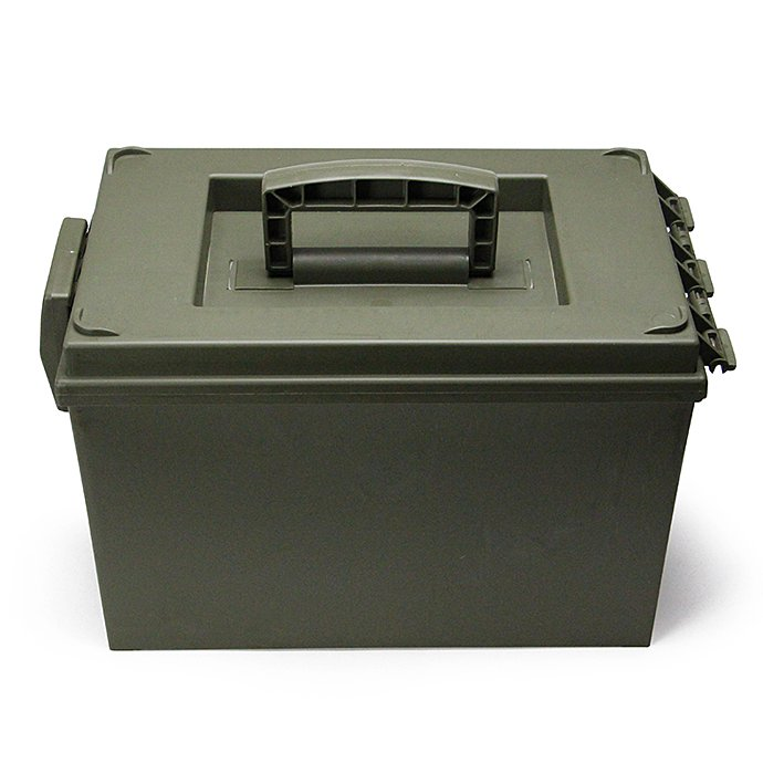 Other Brands Hayes / Large Utility Box - Olive Drab 02