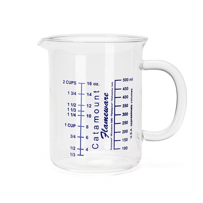 Other Brands Catamount Glass / Glass Handle Measuring Cups - 2Cup 01