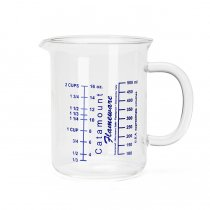 Catamount Glass / Glass Handle Measuring Cups - 2Cup