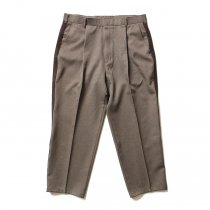 Hexico Deformer 1-Tuck Line Pants - Ex. Action Slacks リメイクスラックス - Heather Brown