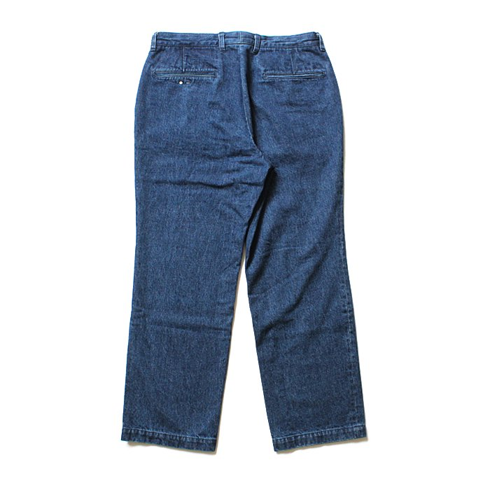 O- LOOSE DENIM FB ブルーデニムパンツ O-W-02B Blue 02