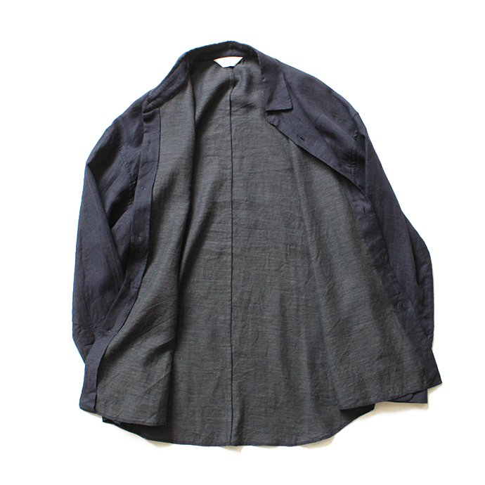 117980209 THEE(シー)/ THEE x hatsutoki W-face Shirts comfortable WF-SH-01 Navy<img class='new_mark_img2' src='//img.shop-pro.jp/img/new/icons47.gif' style='border:none;display:inline;margin:0px;padding:0px;width:auto;' /> 02