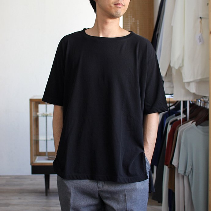 smoothday ユニセックス テクノラマ オーバーサイズ スリットTシャツ SG-T001-004 Navy<img class='new_mark_img2' src='//img.shop-pro.jp/img/new/icons47.gif' style='border:none;display:inline;margin:0px;padding:0px;width:auto;' /> 02