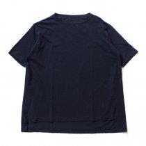 smoothday ユニセックス テクノラマ オーバーサイズ スリットTシャツ SG-T001-004 Navy<img class='new_mark_img2' src='//img.shop-pro.jp/img/new/icons47.gif' style='border:none;display:inline;margin:0px;padding:0px;width:auto;' />