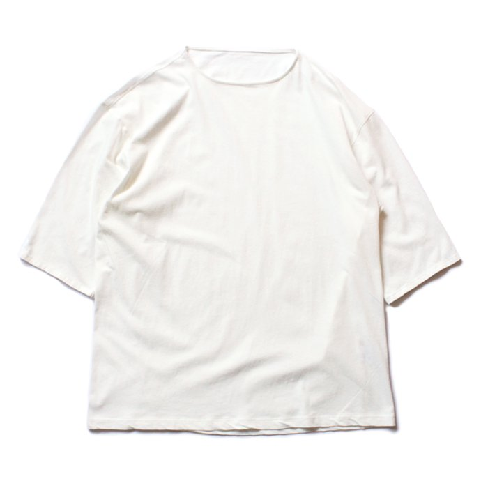 smoothday ユニセックス テクノラマ オーバーサイズ 七分袖Tシャツ SG-T002-004 Off white<img class='new_mark_img2' src='//img.shop-pro.jp/img/new/icons47.gif' style='border:none;display:inline;margin:0px;padding:0px;width:auto;' /> 01