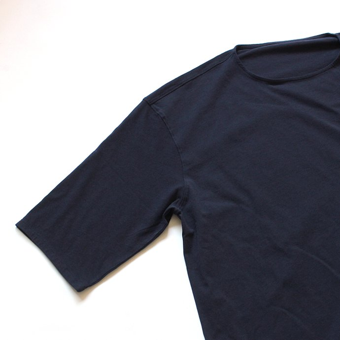 118115118 smoothday / ユニセックス テクノラマ オーバーサイズ 七分袖Tシャツ SG-T002-004 Navy<img class='new_mark_img2' src='//img.shop-pro.jp/img/new/icons47.gif' style='border:none;display:inline;margin:0px;padding:0px;width:auto;' /> 02