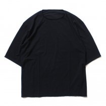 smoothday ユニセックス テクノラマ オーバーサイズ 七分袖Tシャツ SG-T002-004 Black<img class='new_mark_img2' src='//img.shop-pro.jp/img/new/icons47.gif' style='border:none;display:inline;margin:0px;padding:0px;width:auto;' />