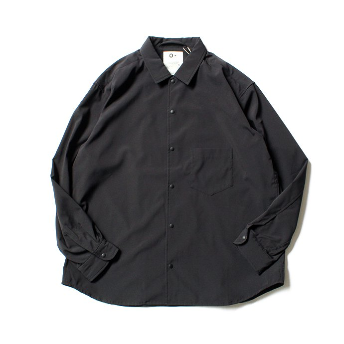 118130856 O-(オー)/ BAGGY SHIRT バギーシャツ O-S-04 Black<img class='new_mark_img2' src='//img.shop-pro.jp/img/new/icons47.gif' style='border:none;display:inline;margin:0px;padding:0px;width:auto;' /> 01