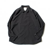 O- BAGGY SHIRT バギーシャツ O-S-04 Black<img class='new_mark_img2' src='//img.shop-pro.jp/img/new/icons47.gif' style='border:none;display:inline;margin:0px;padding:0px;width:auto;' />