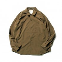 O- BAGGY SHIRT バギーシャツ O-S-04 Olive<img class='new_mark_img2' src='//img.shop-pro.jp/img/new/icons47.gif' style='border:none;display:inline;margin:0px;padding:0px;width:auto;' />