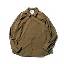 O-(オー)/ BAGGY SHIRT バギーシャツ O-S-04 Olive