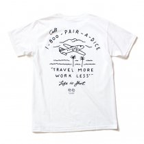 Other Brands MNKR / Pair-A-Dice プリントTシャツ ホワイト
