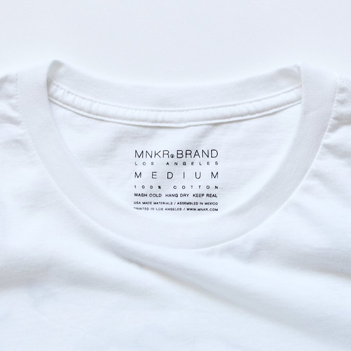 Other Brands MNKR / Lone Saguaro プリントTシャツ ホワイト 02