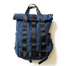 DEFY / VerBockel Rolltop Backpack - Navy Cordura ロールトップバックパック コーデュラナイロン ネイビー<img class='new_mark_img2' src='//img.shop-pro.jp/img/new/icons47.gif' style='border:none;display:inline;margin:0px;padding:0px;width:auto;' />