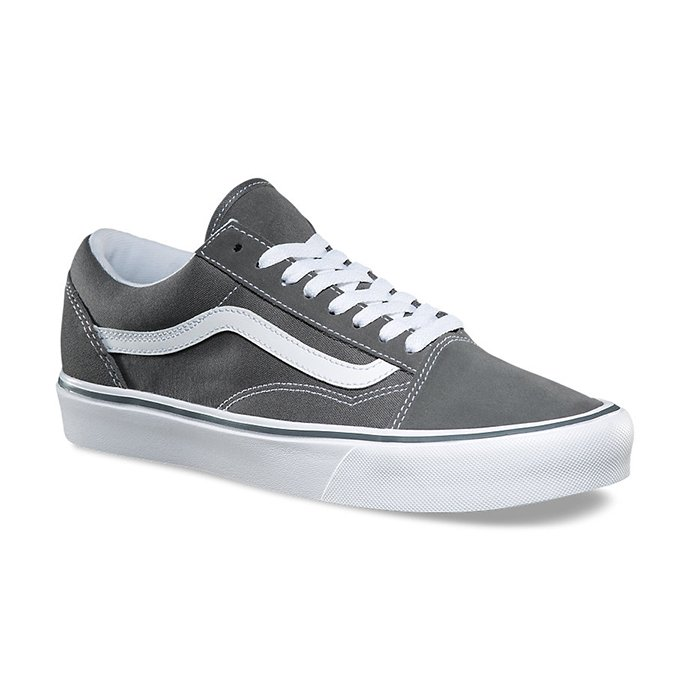 VANS Suede/Canvas Old Skool Lite - Pewter VN0A2Z5WOT4 ヴァンズ オールドスクールライト グレー<img class='new_mark_img2' src='//img.shop-pro.jp/img/new/icons47.gif' style='border:none;display:inline;margin:0px;padding:0px;width:auto;' /> 02