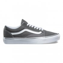 VANS Suede/Canvas Old Skool Lite - Pewter VN0A2Z5WOT4 ヴァンズ オールドスクールライト グレー
