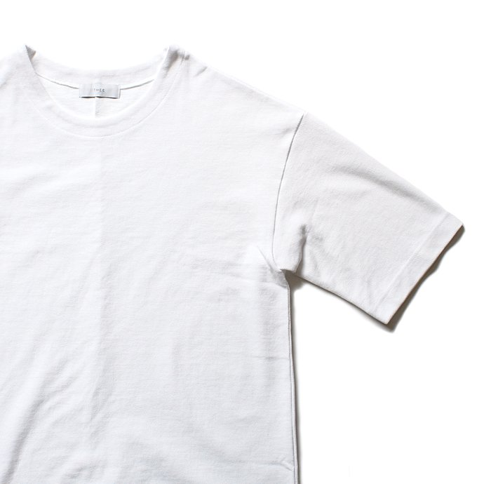 THEE Oversize Kanoko Tee OC-CS-04 鹿の子素材オーバーサイズTシャツ ホワイト<img class='new_mark_img2' src='//img.shop-pro.jp/img/new/icons47.gif' style='border:none;display:inline;margin:0px;padding:0px;width:auto;' /> 02