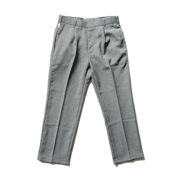Hexico Deformer 1-Tuck Pants - Ex. U.S. Action Slacks リメイクワンタックスラックス - Grey 32<img class='new_mark_img2' src='//img.shop-pro.jp/img/new/icons47.gif' style='border:none;display:inline;margin:0px;padding:0px;width:auto;' /> 01