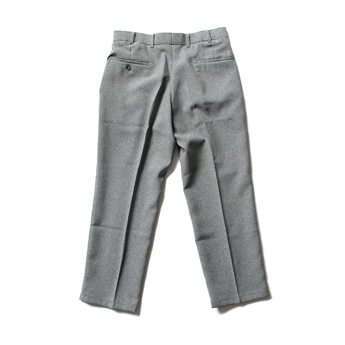 Hexico Deformer 1-Tuck Pants - Ex. U.S. Action Slacks リメイクワンタックスラックス - Grey 32<img class='new_mark_img2' src='//img.shop-pro.jp/img/new/icons47.gif' style='border:none;display:inline;margin:0px;padding:0px;width:auto;' /> 02