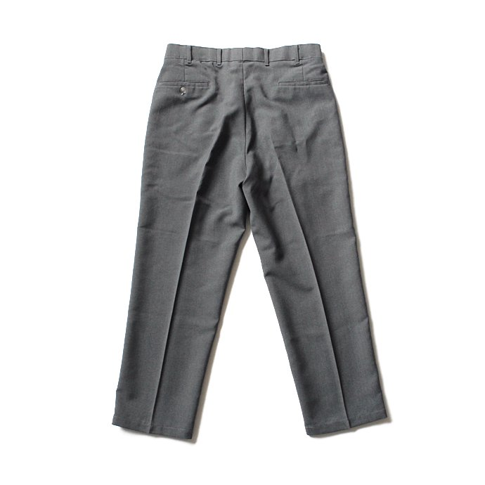 120189561 Hexico / Deformer 1-Tuck Pants - Ex. U.S. Action Slacks リメイクワンタックスラックス - Charcoal 32 02
