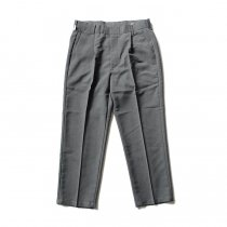 Hexico Deformer 1-Tuck Pants - Ex. U.S. Action Slacks リメイクワンタックスラックス - Charcoal 32