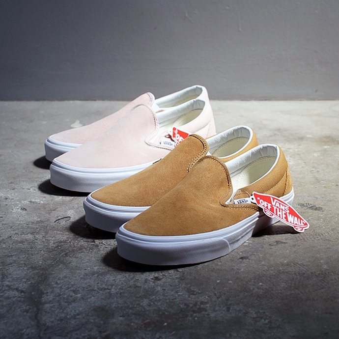 120432025 VANS / Suede Slip-On - Medal Bronze VN0A38F7OSX ヴァンズ スウェードスリッポン メダルブロンズ<img class='new_mark_img2' src='//img.shop-pro.jp/img/new/icons47.gif' style='border:none;display:inline;margin:0px;padding:0px;width:auto;' /> 02