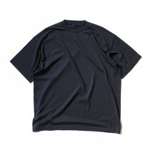 crepuscule / S/S Knit Tee 1703-001 - Navy シルク混ハイゲージ半袖ニットT ネイビー<img class='new_mark_img2' src='//img.shop-pro.jp/img/new/icons47.gif' style='border:none;display:inline;margin:0px;padding:0px;width:auto;' />