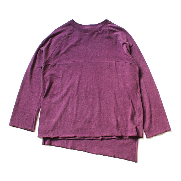 121104759 THEE(シー)/ カットソー Apron VC-CS-01 - Burgundy 01