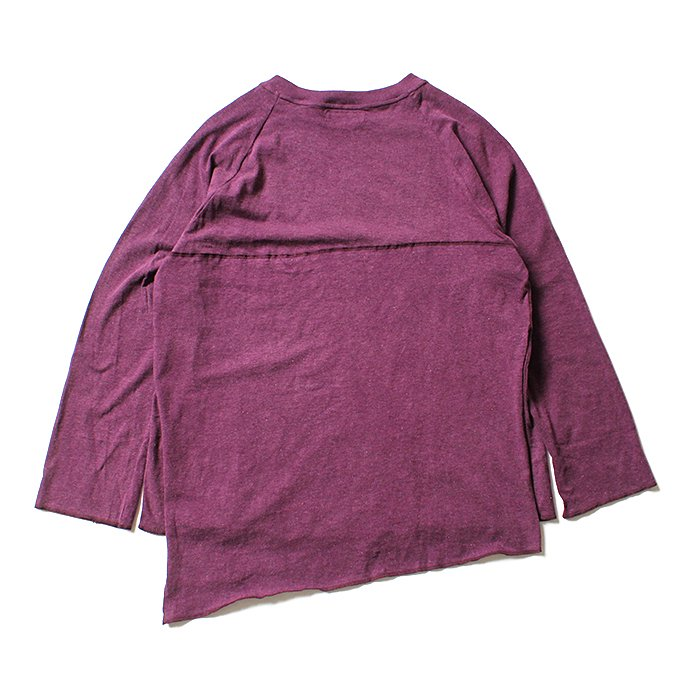 121104759 THEE(シー)/ カットソー Apron VC-CS-01 - Burgundy 02