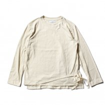 THEE THEE(シー)/ カットソー Tuck in VC-CS-02 - Cream