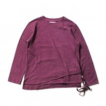 THEE THEE(シー)/ カットソー Tuck in VC-CS-02 - Burgundy